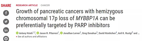 """Science: """"Cancer King"""" pancreatic cancer finally has a new dawn for treatment"""